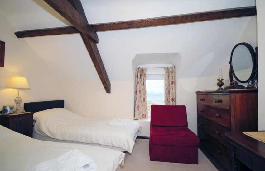 North Wales luxury cottage - bedroom