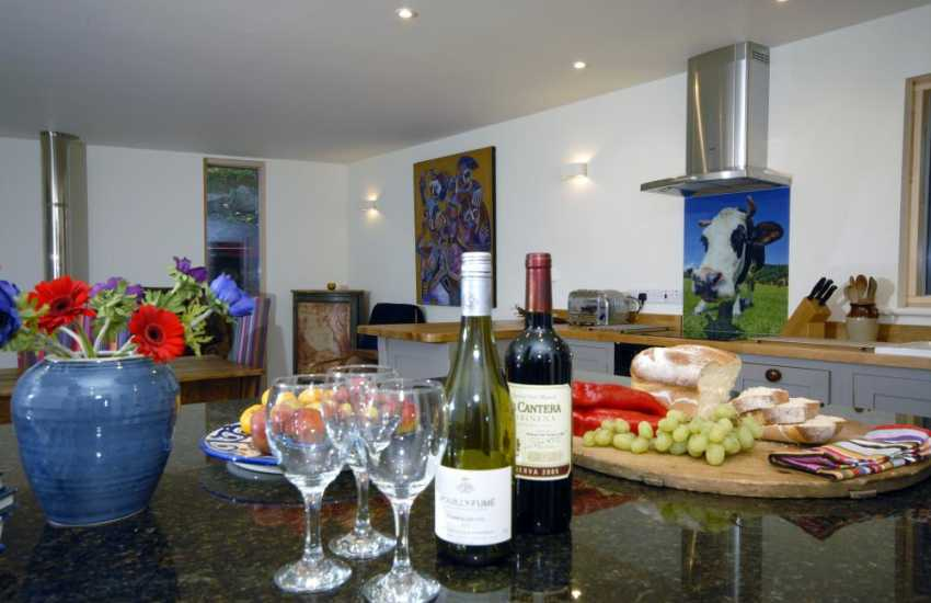 Fabulous Pembrokeshire holiday cottage for stylish relaxation