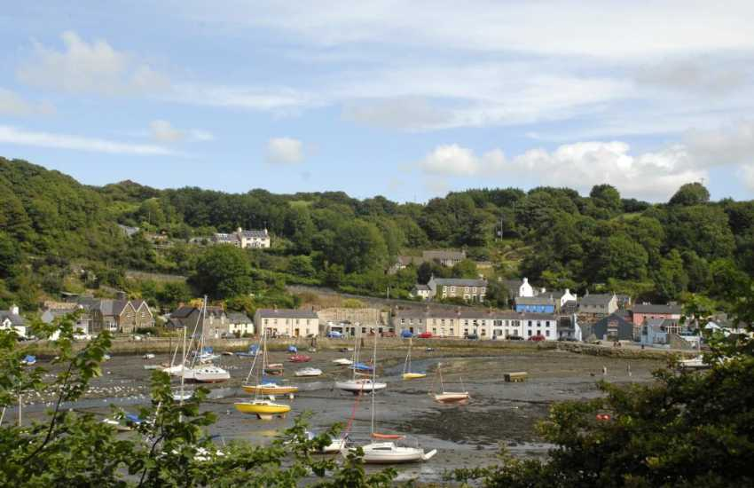 Lower Town Fishguard Harbour, once featured as a set in Under Milk Wood starring Richard Burton and Elizabeth Taylor