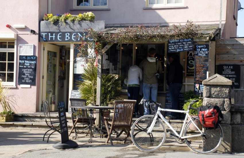 Visit The Bench in St Davids and try one of their many different flavoured ice creams.