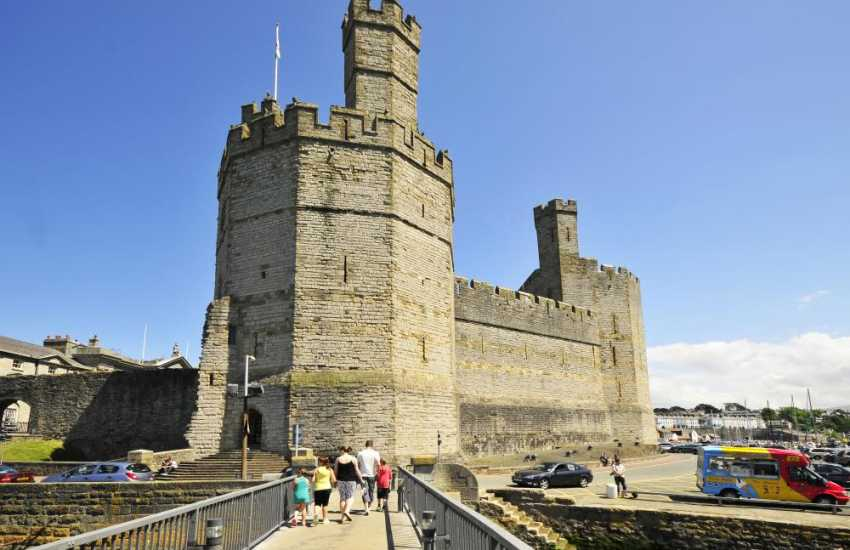 Caernarfon with its impressive castle