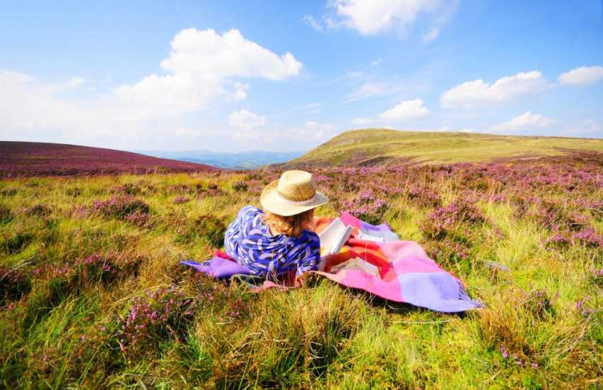 Relax in the beautiful Brecon Beacons