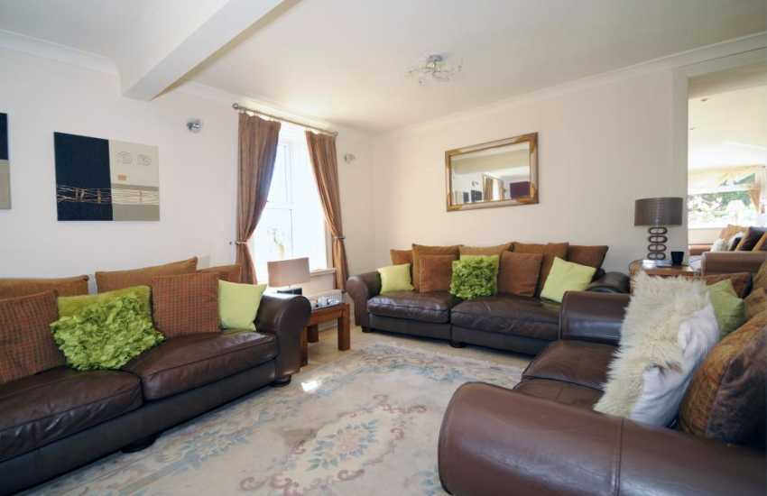 Large holiday house Abersoch - lounge