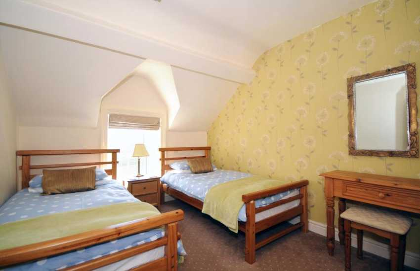 Holiday house Abersoch - twin bedroom