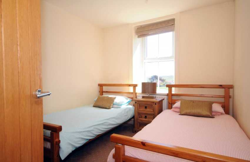 Holiday cottage Abersoch - twin bedroom