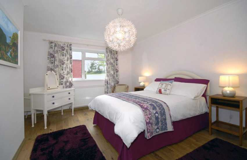 St Davids holiday cottage - master bedroom
