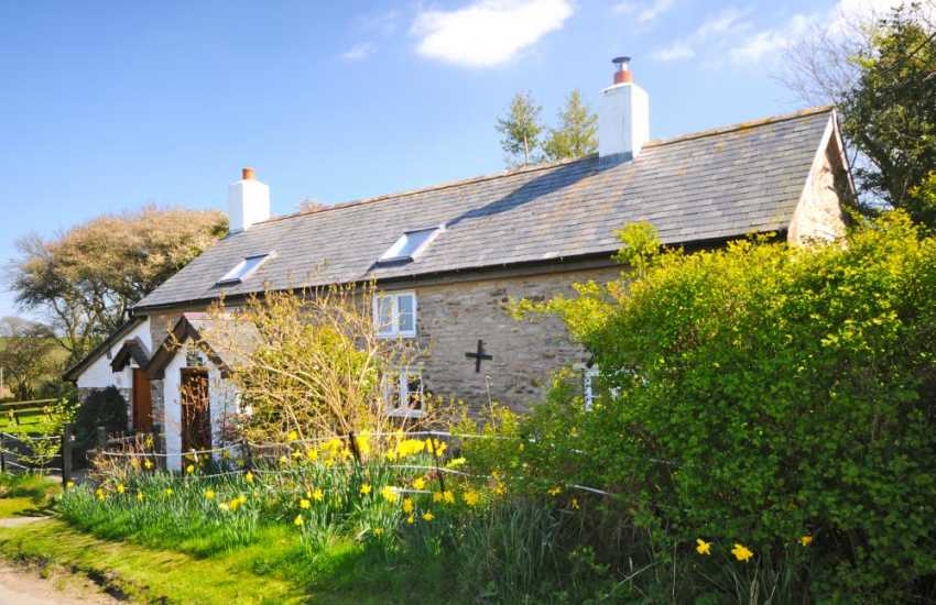 Montgomery holiday cottage- exterior