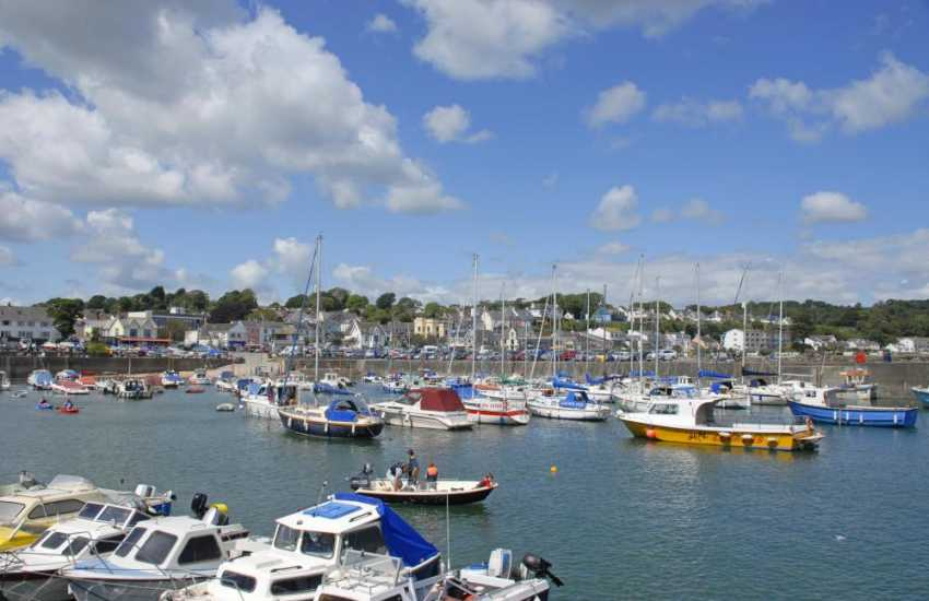 Saundersfoot Harbour - regular boat trips out into the bay include mackerel fishing and coastal cruises