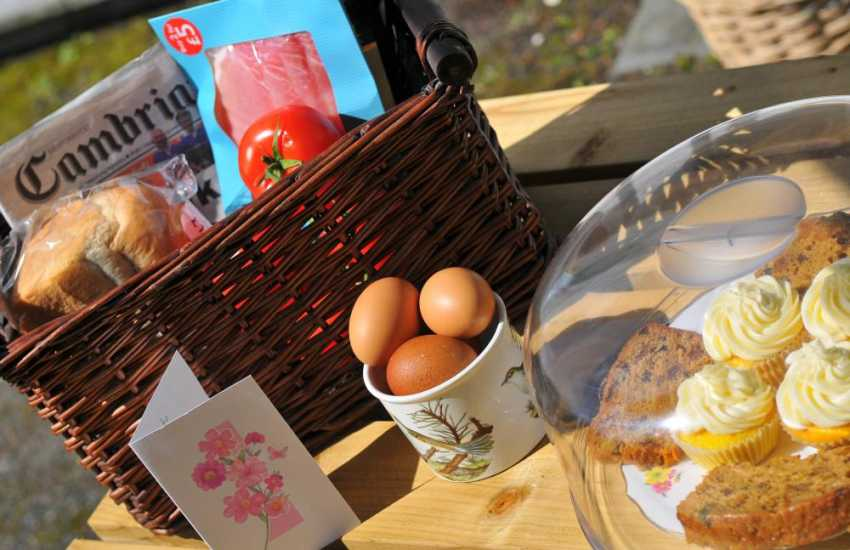 Snowdonia cottage Dolgellau - welcome pack