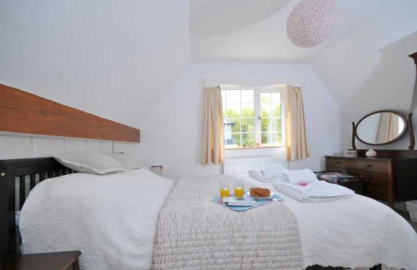 Luxury cottage Snowdonia - bedroom
