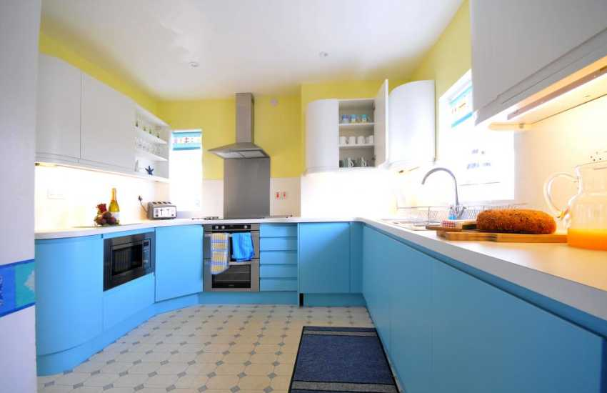 North Wales coastal cottage - kitchen