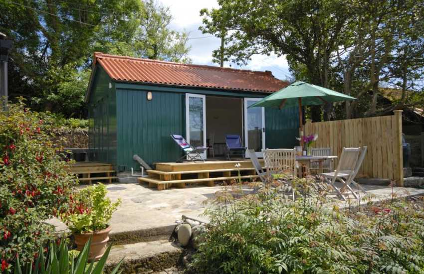 The Shed at Monkstone View - a quiet retreat at any time of the year