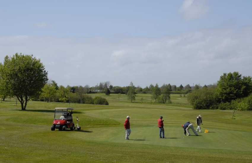 Priskilly Forest Golf Club - challenging 9 hole course at Castlemorris set in magnificent parkland with panoramic views