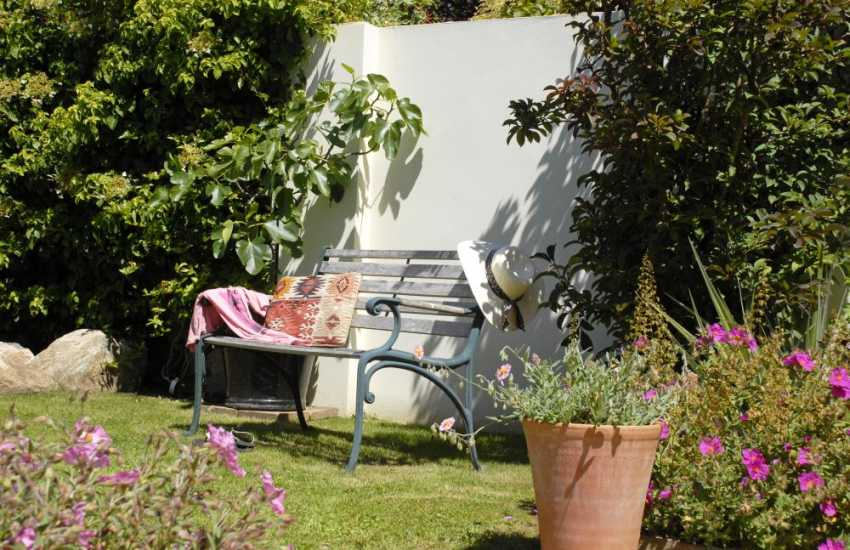 A private, sheltered spot to 'chill out' in the garden