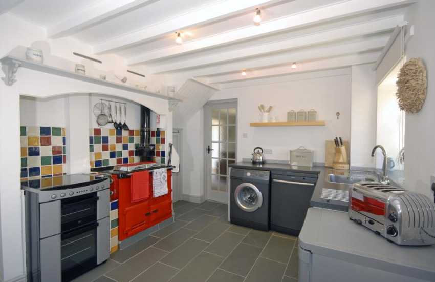 North Pembrokeshire self catering - modern kitchen/diner