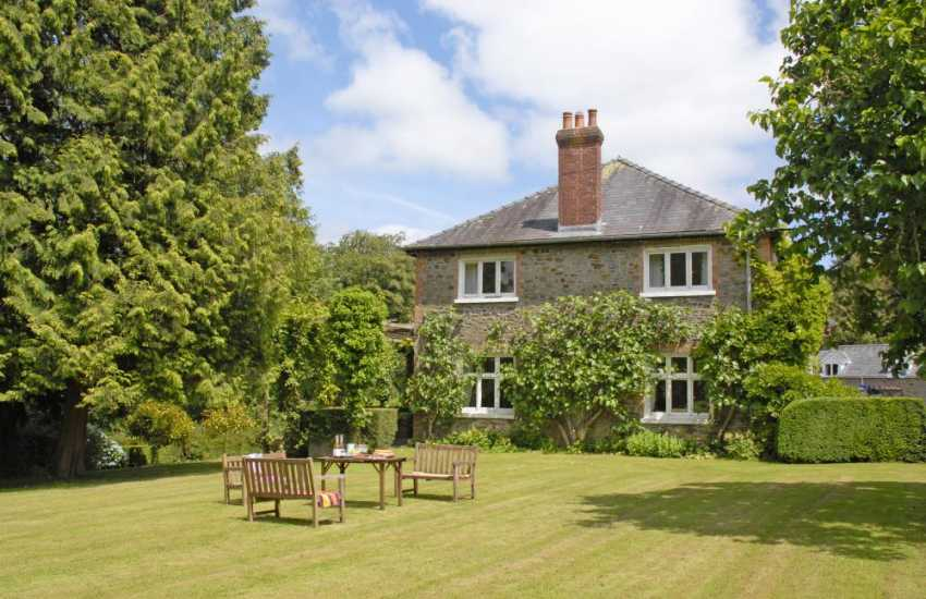 Edwardian country home with 4 acres of gardens