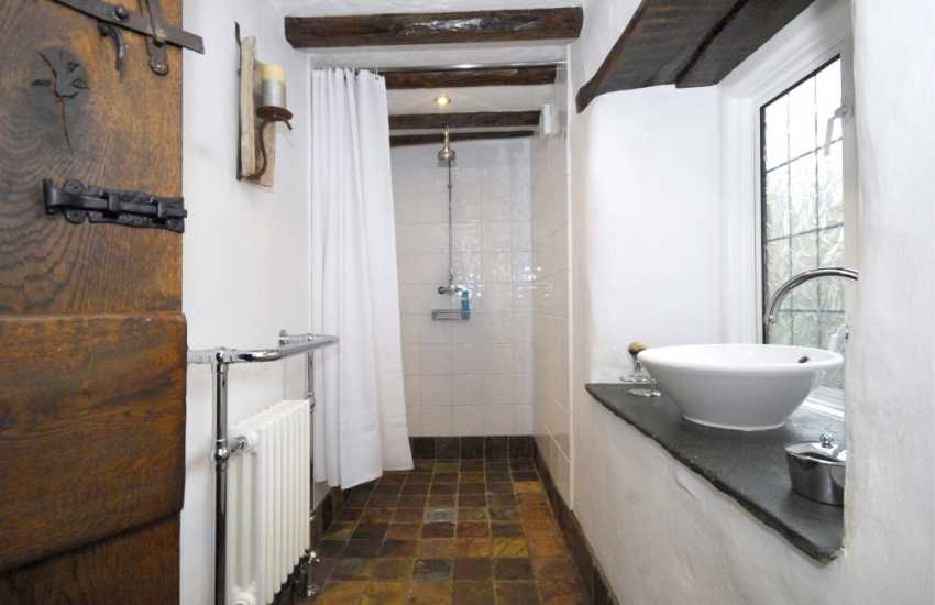 Dee Valley holiday cottage - Wet room