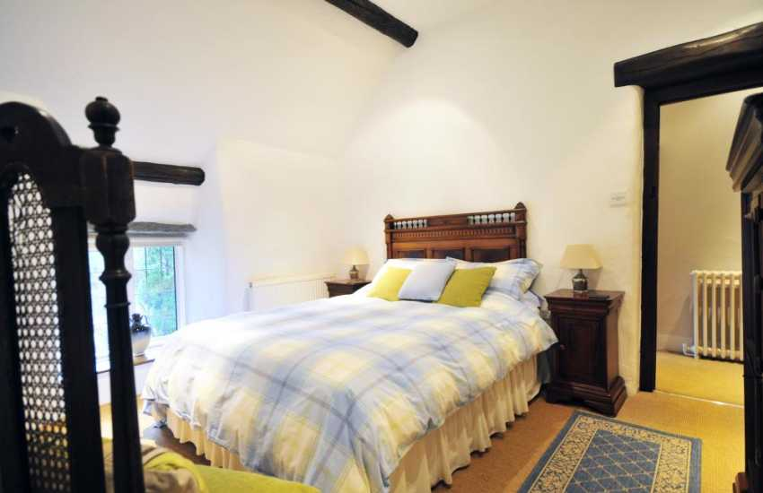Double bedroom in luxury North Wales holiday cottage