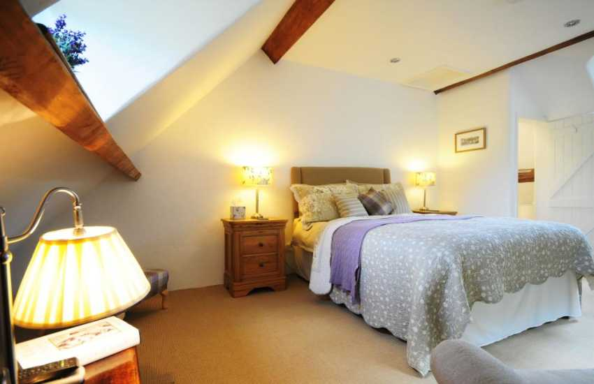 Double en-suite bedroom with its own separate staircase