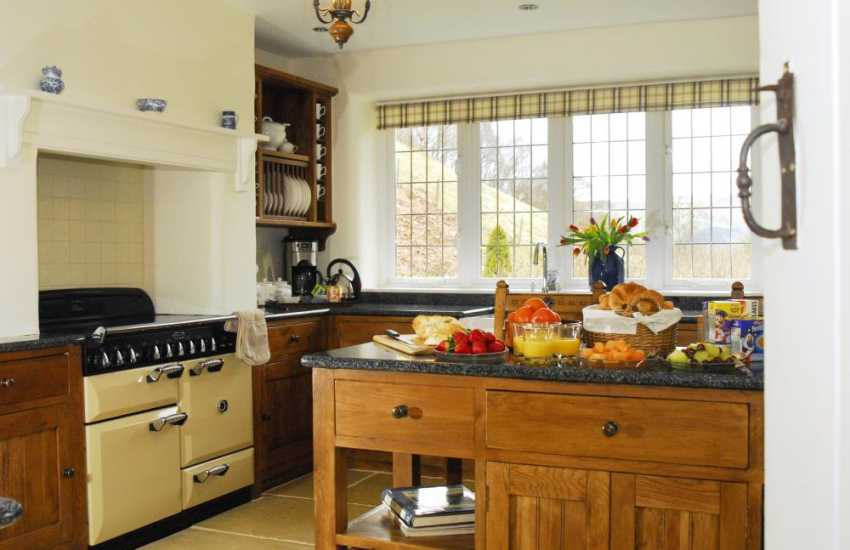 Holiday cottage North Wales with modern kitchen