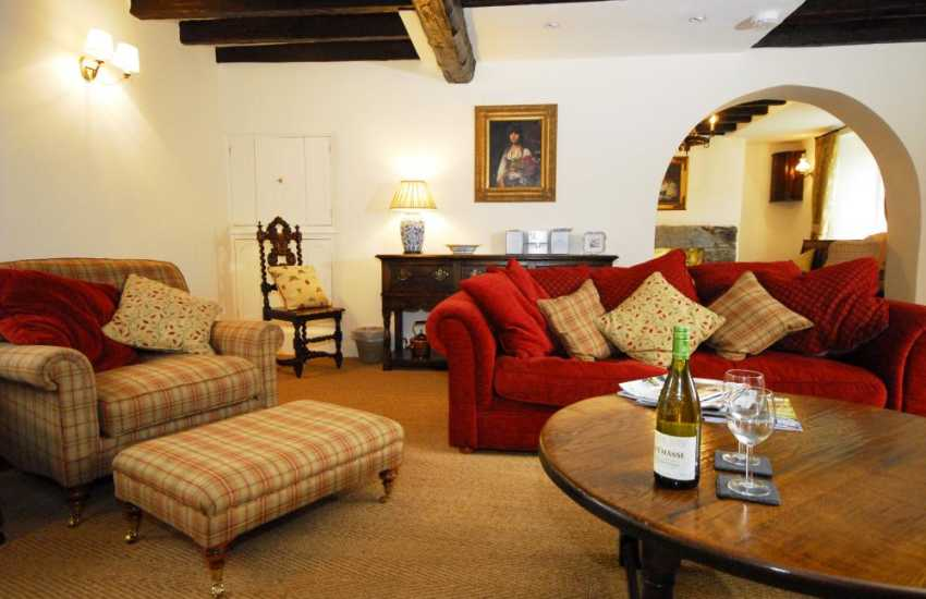 Holiday cottage North Wales near Bala - lounge