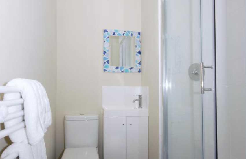 Aberaeron holiday home - en-suite shower