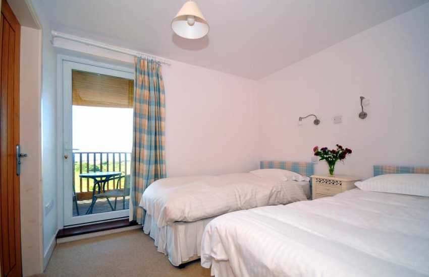 Seaside cottage Wales - bedroom
