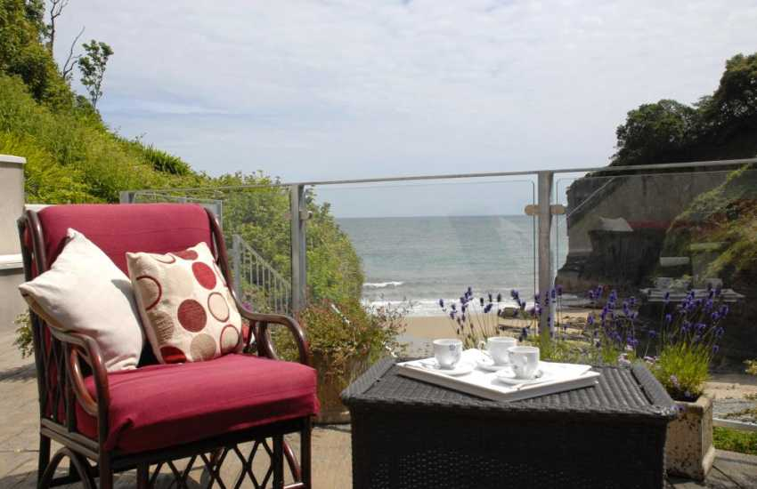 Relax and chill out at The Beach House, Tenby