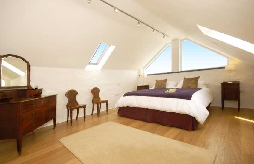 Master on 2nd floor with super king size bed and en-suite bathroom