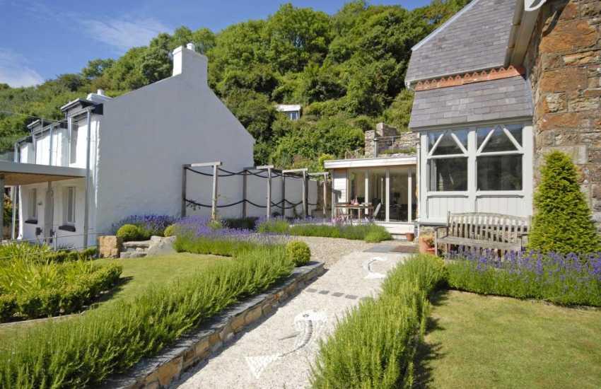 Follow the 'Sea Bass' up the garden path