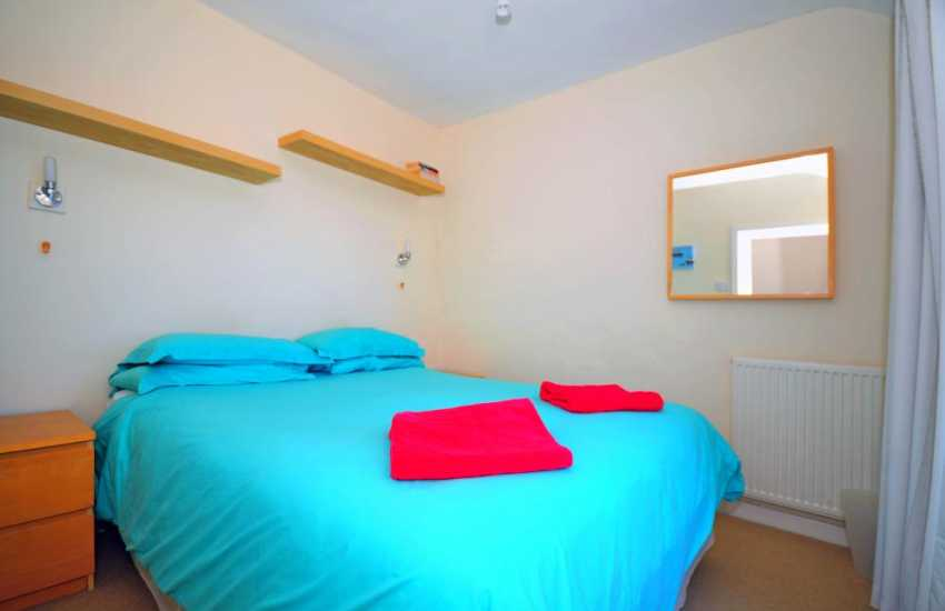 Double bedroom in Criccieth holiday town house