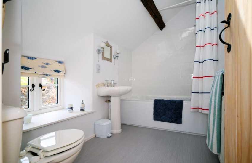 Porthmadog holiday cottage - bathroom