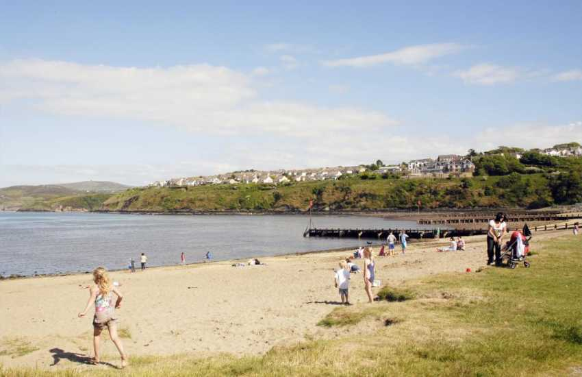 Parrog Beach at Goodwick is safe for most water sports