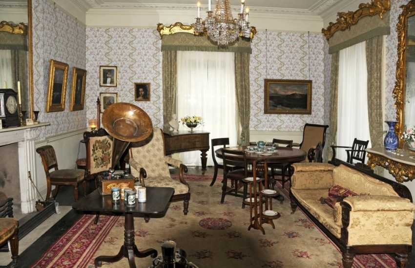 Scolton Manor - experience the Victorian era and country life 'above and below stairs' over three floors of the Manor House