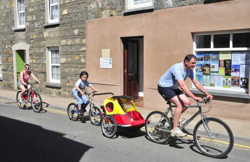 Carningli Bike Hire in Newport offers bikes for all age groups - fun for all the family!
