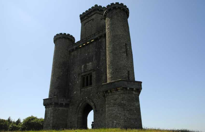 Paxton's Tower, a striking folly erected in honour of Nelson