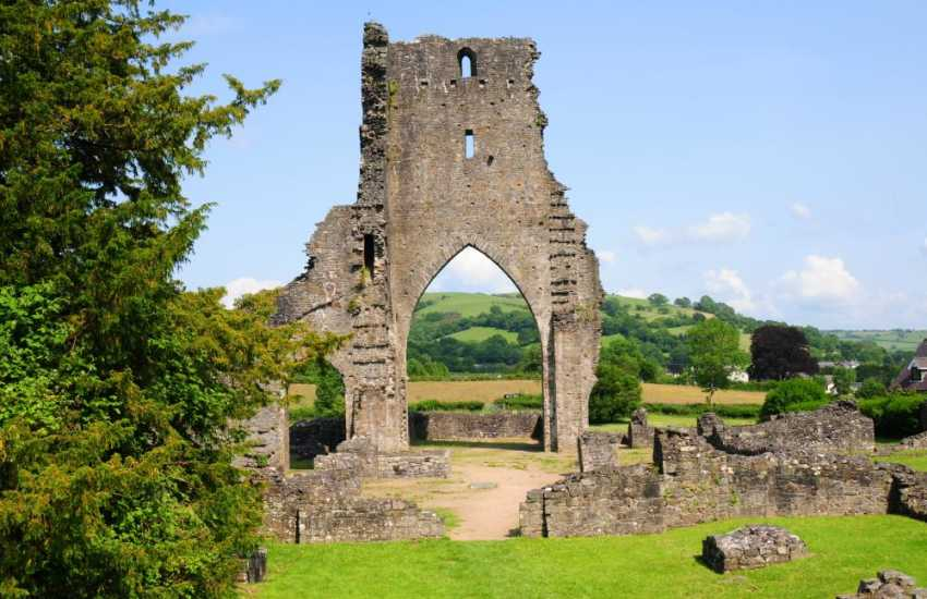 Visit the remains of Talley Abbey founded for the Premonstratensian order by Rhys ap Gruffydd between 1184 and 1189