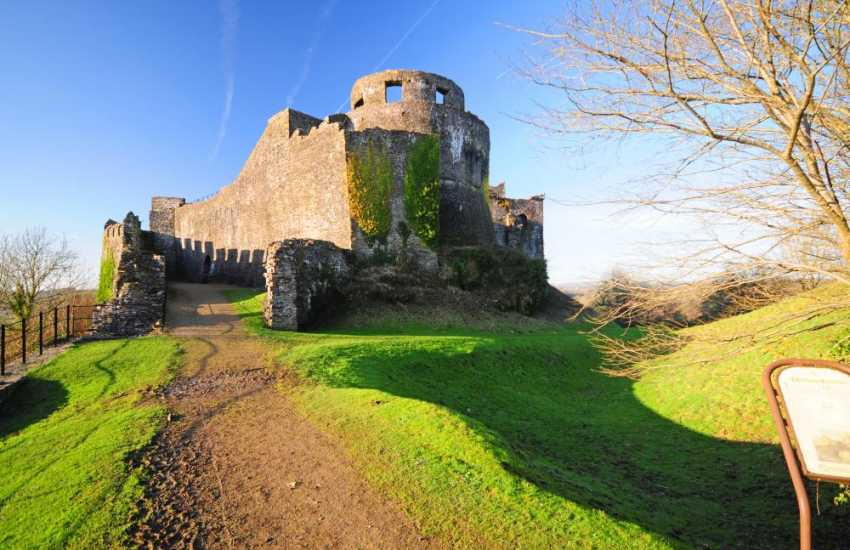 Explore Dinefwr Castle and grounds, once the principal stronghold of the princes of Deheubarth, adjacent to Newton House