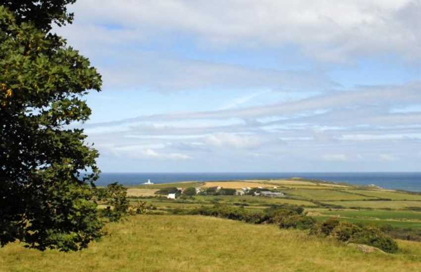 Fabulous views from the first floor double bedrooms to Strumble Head