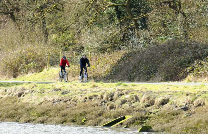 Llys y Fran Reservoir & Country Park - bikes can be hired for the off road cycle trail 7.5m around the lake. Enjoy country walks, a trout fishery, restaurant and gift shop
