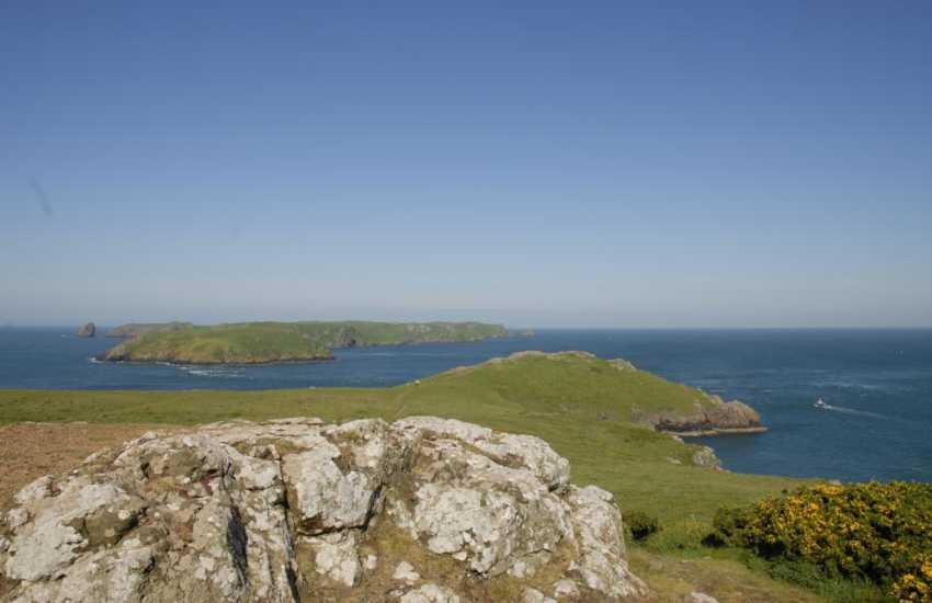 The Dale Peninsula - enjoy wonderful cliff top walking along the Pembrokeshire Coast Path