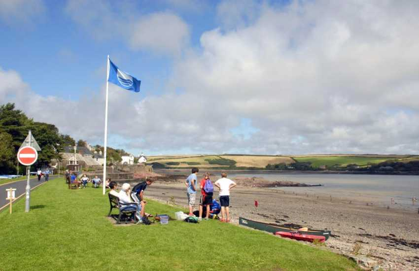 The seaside village of Dale is set in a horseshoe sheltered bay, allegedly the sunniest spot in Wales!