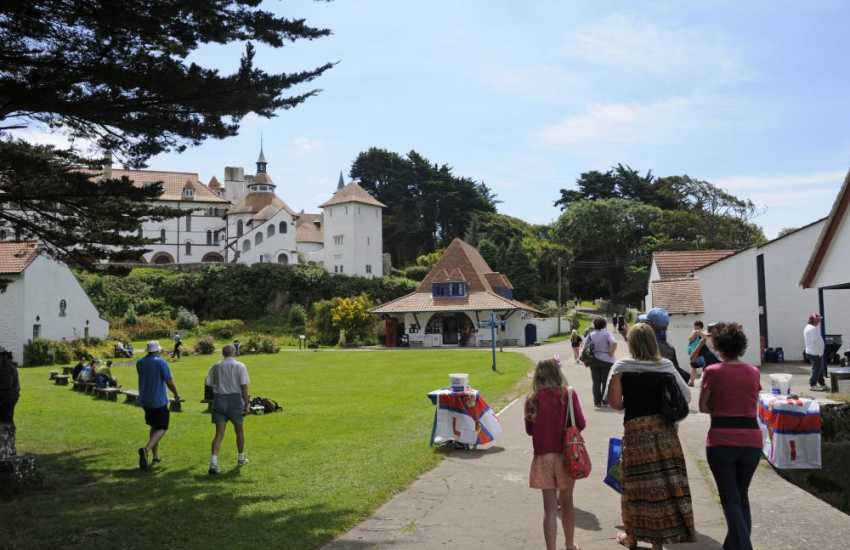 Do visit Caldey Island with its Cistercian Monastry overlooking the village green