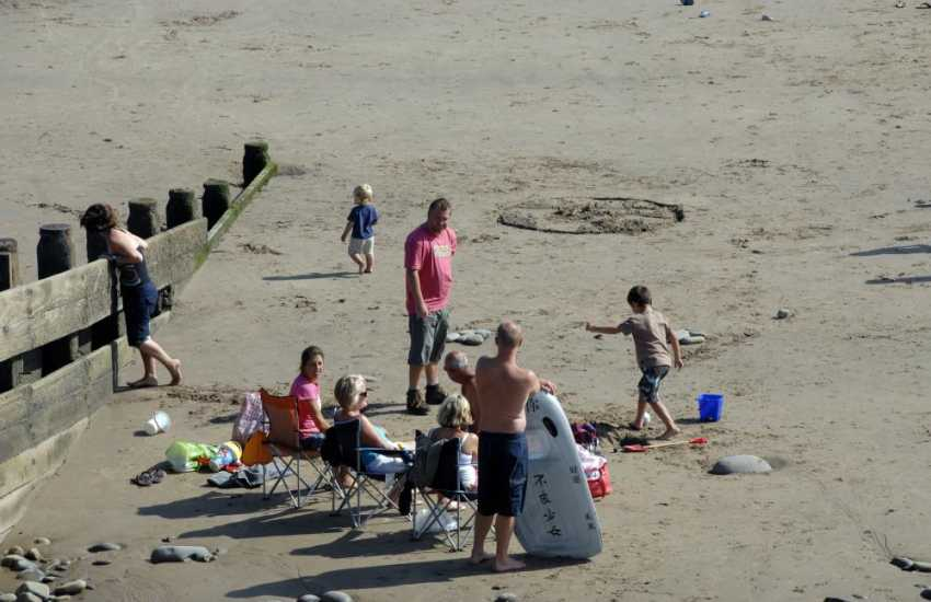 The Pembrokeshire coastline has many wonderful golden sandy beaches to choose from - great for family days spent together