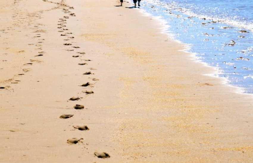 Walks on the beach at Newborough, Anglesey