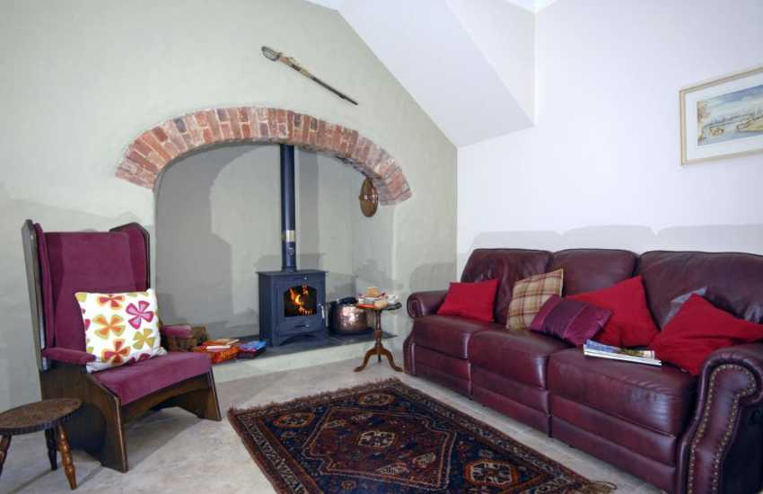 Relax by the wood burning stove in this historic gentleman's residence