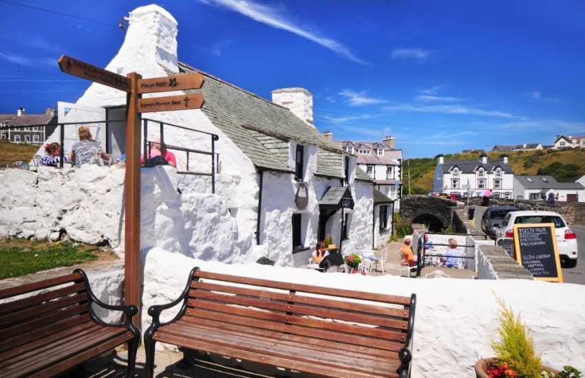 Pretty Aberdaron village on the tip of the Lleyn Peninsula