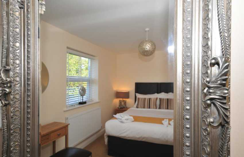 Conwy holiday cottage - bedroom