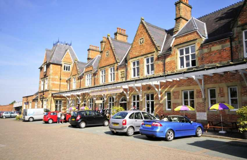 The Old Station, Welshpool offers a unique opportunity for both the holiday maker and the local visitor to shop in one of the most elegant listed buildings in the area