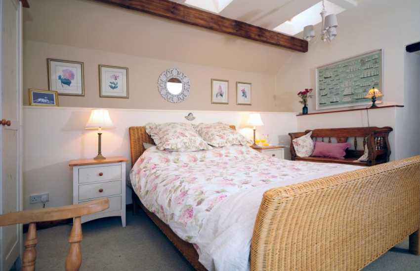 Coastal Cottage Wales - bedroom